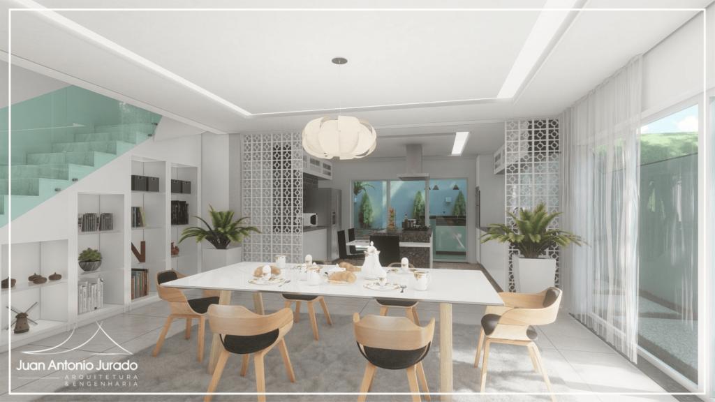 Sala Jantar - Bem Iluminada