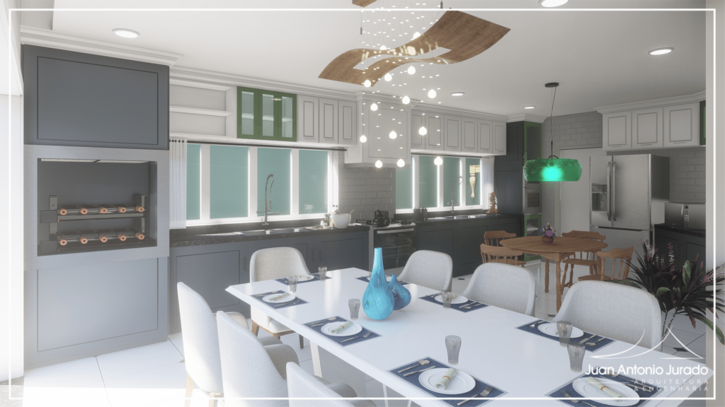 Sala Jantar - Integrada