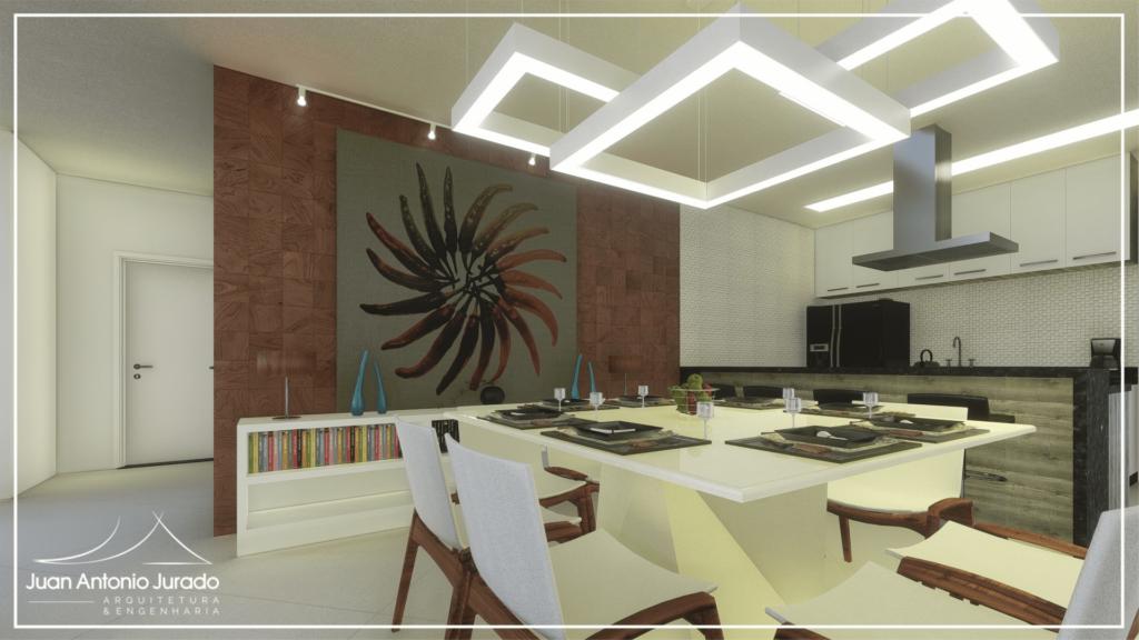 Sala Jantar - Mesa Quadrada